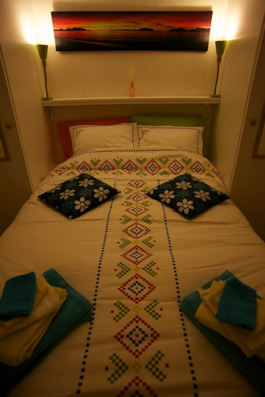 master bedroom - 2 person bed